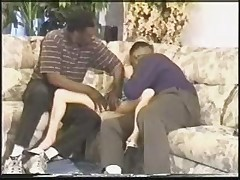 mary gets gangbang creampie from blacks