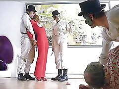 A Clockwork Orange - Adrienne Corri - Brutal fucked
