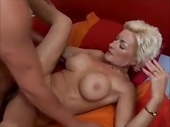 Blond Mom Fucks the Her Son By TROC