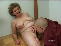 Russian Granny And Boy 208