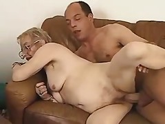 German granny and young lover