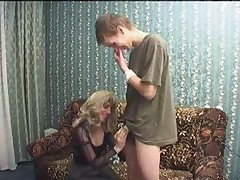 Russian Mom And Boy 207