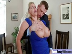 Busty Hot Milf Need A Good Hardcore Fuck vid-18