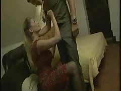Spiffy milf breech push around a rough load of shit