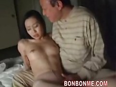 milf fucked away from elderly alms-man 01