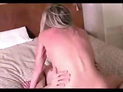 Tow-headed old lady fucked harde unconnected with lassie