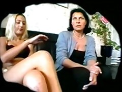 Mother and daughter lesbians hidden cam