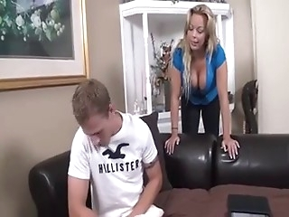 Not-mother joins the fun with boy