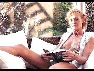 Blond old woman Fucked