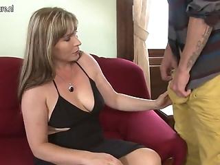 My stepmom is fucking hot