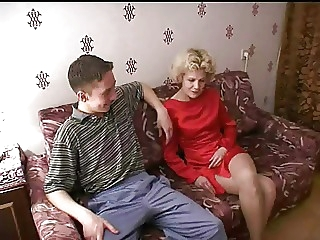 Russian mother is randy