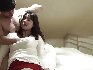 Sexual scene with Korean babe