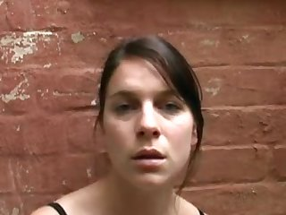 face of orgasm outside