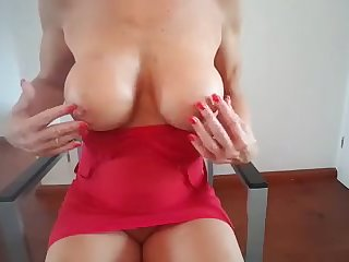 Dutch mom MILF Lisa mastrubating 6
