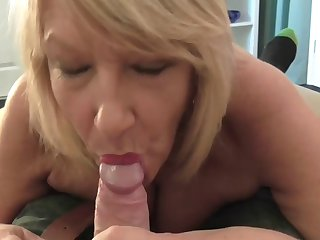 Hot Mom Fucking with a Younger Toy Bo