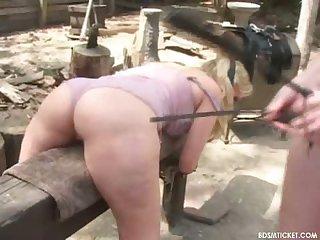 Big booty lady