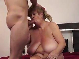 granny loves his cum