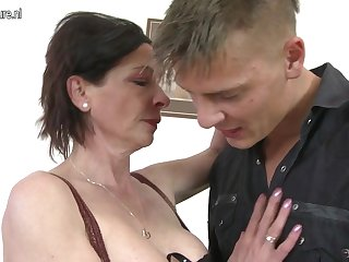 Bad son and mom
