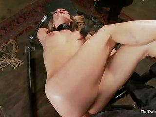 Training a bitch gal to Fuck Better, last Day