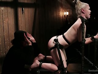 blonde whore gets a Full Dose of Brutality