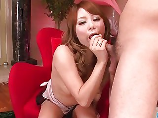 Cocoa Ayane superb toy porn along blowjob scenes