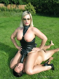 Latex and leather pics