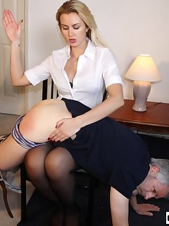 16 of Boss Gigi Allens Spanks Worker