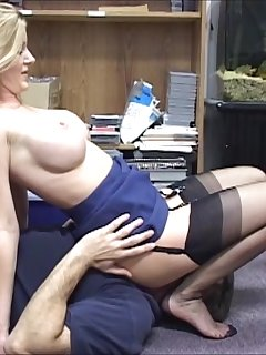6 of Amber Wild and Nasty in Control in the Office