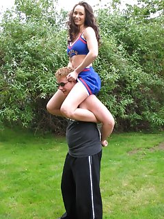 16 of Cheerleader dominates him