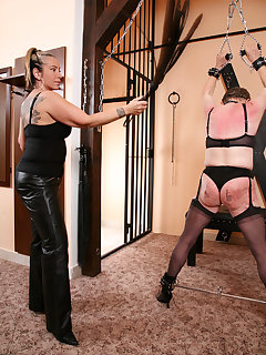 <!–-IMAGE_COUNT-–> of HARD TRAINING WITH MISTRESS SHANE