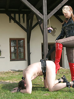 12 of RIDING AND PUNISHMENT OF PONYBOYS 2.