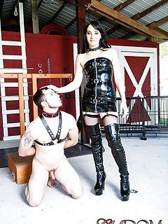 12 of Sarah Dice Humiliating Slave
